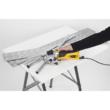 POWERPLUS Sárga mini körfűrész + gérvágó (POWX1365MB) - 600 W