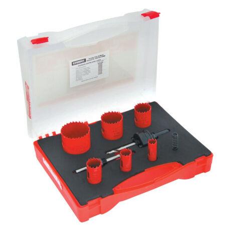 KENNEDY Bimetál lyukfűrész készlet villanyszerelőknek (KEN0502300K) - 9 részes
