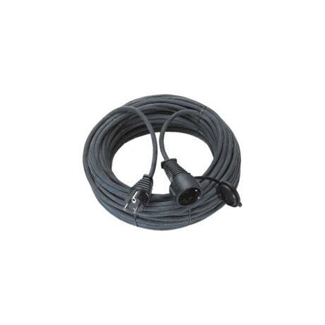BRENNENSTUHL Elektromos hosszabbító fekete kültéri IP44 (H05RR-F 3 G1,5) - 15 m