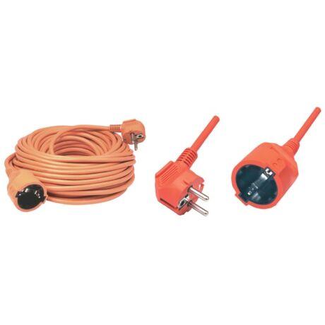HOME NV 2-5/O Elektromos hosszabbító narancs - 5 m