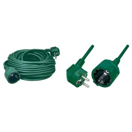 HOME NV 2-5/G Elektromos hosszabbító zöld - 5 m