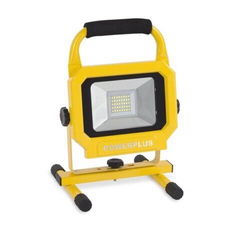 POWERPLUS Hordozható akkumulátoros reflektor (POWLI236) - 20 W