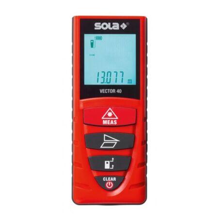 SOLA VECTOR 40 Lézeres távolságmérő övkapoccsal
