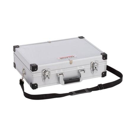 KREATOR Szerszámkoffer alumínium/ezüst (KRT640101S) - 420x300x125 mm