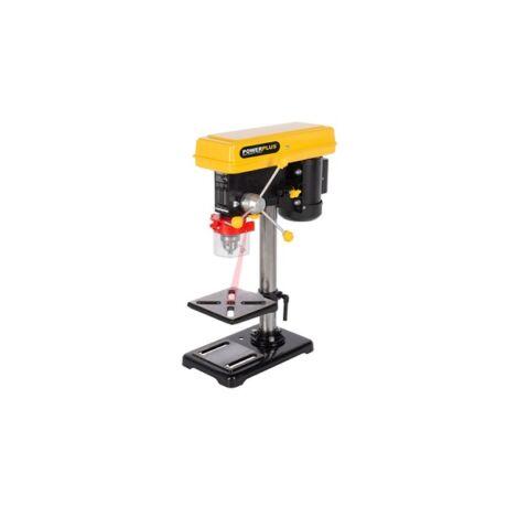 POWERPLUS Sárga oszlopos fúrógép (POWX155) - 500 W