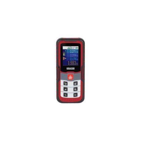 KREATOR Lézeres távolságmérő digitális (KRT706510 ) - 60 m
