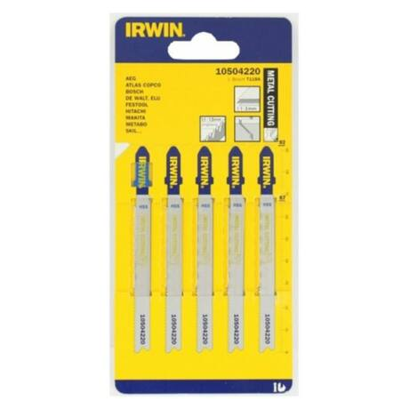 IRWIN HSS Dekopírfűrészlap fémre - 100 mm/8 TPI