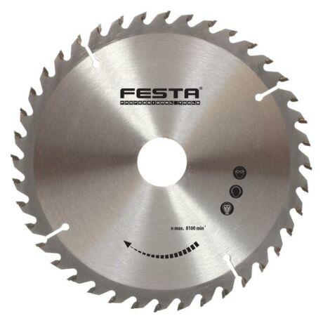 FESTA TCT Fűrésztárcsa fához vídiás - 160x3,2/2,2x20x16