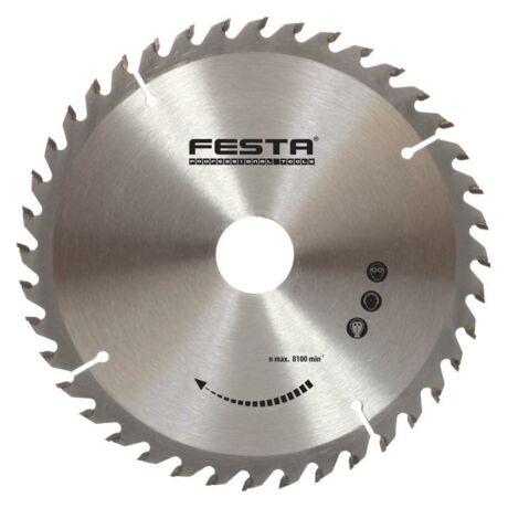 FESTA TCT Fűrésztárcsa fához vídiás- 210x30x40