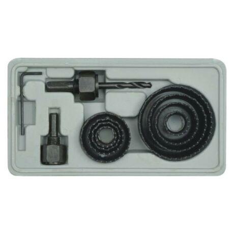Körkivágó készlet - 11 részes/18-63 mm