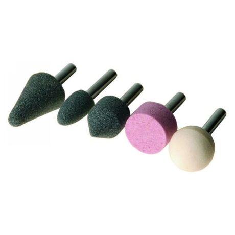 Csapos köszörűkorong készlet - 5 részes/6 mm