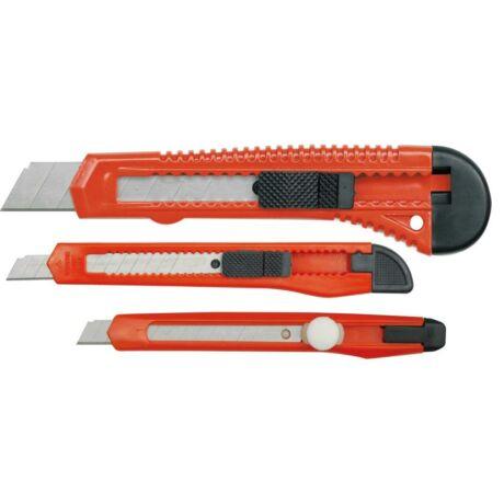 Törhető pengés kés készlet - 3 részes