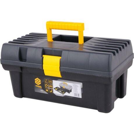 VOREL Szerszámosláda műanyag - 415x225x200 mm