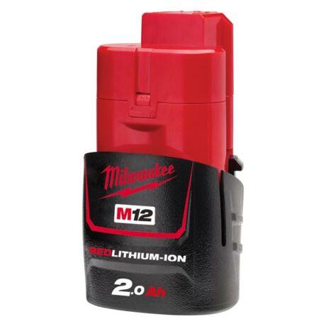 MILWAUKEE M12 B2 Akkumulátor - 12 V/2 Ah