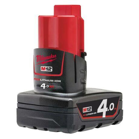 MILWAUKEE M12 B4 Akkumulátor - 12 V/4 Ah