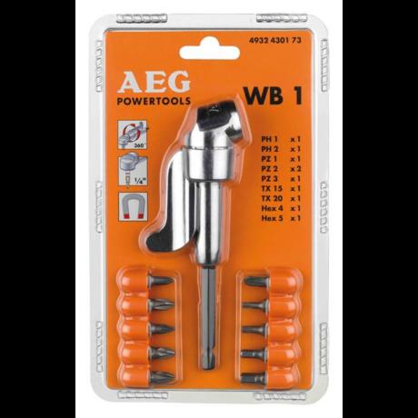 AEG Sarokcsavarozó tartozék szett - WB1