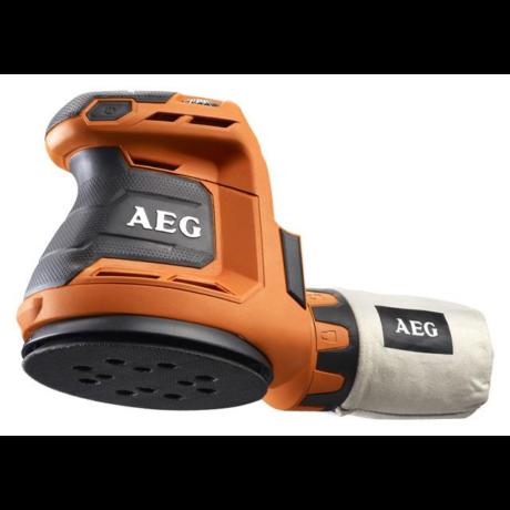 AEG Akkumulátoros excenter csiszológép - BEX18-125 - 0