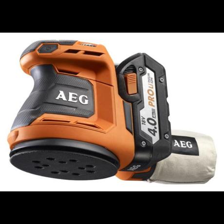 AEG Akkumulátoros excenter csiszológép - BEX18-125 LI-402C