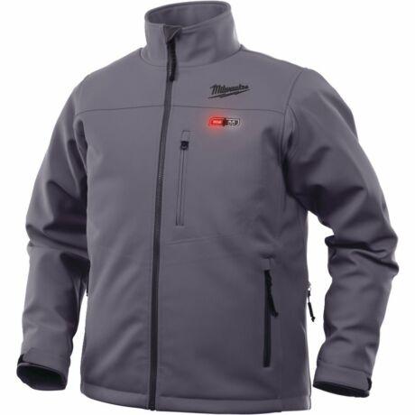 MILWAUKEE Akkumulátoros fűthető kabát - M12 HJBL4-0/szürke