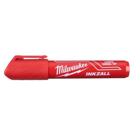 MILWAUKEE INKZALL Jelölő filc - piros/vastag (L)