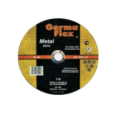 GERMAFLEX Tisztítókorong - INOX/125x6x22,2