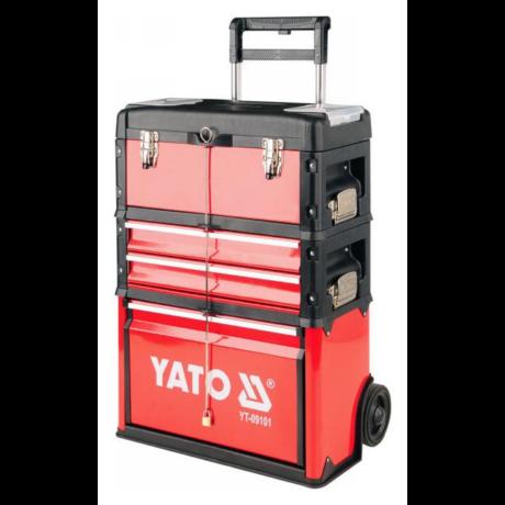 YATO Moduláris szerszámkocsi (YT-09101) - 2 fiókos/üres