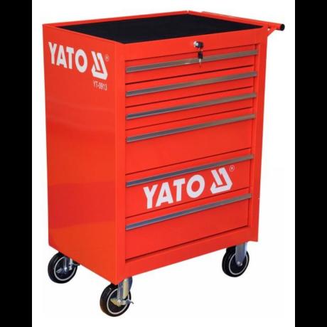 YATO Szerszámkocsi (YT-0913) - 6 fiókos/üres