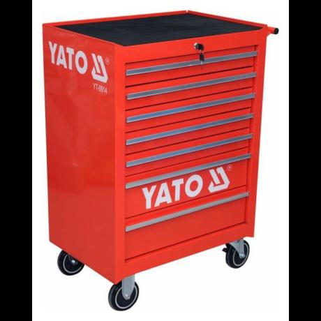 YATO Szerszámkocsi (YT-0914) - 7 fiókos/üres
