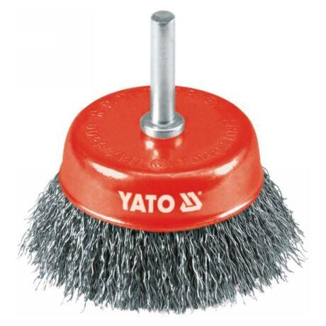 YATO Fazékkefe csapos - 75 mm x 6 mm
