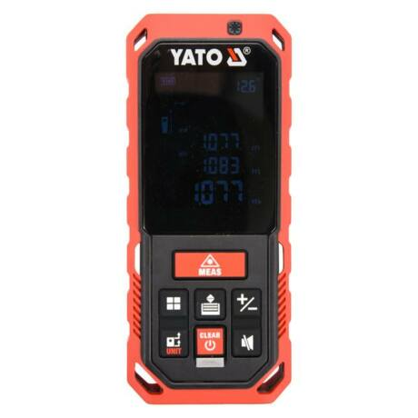 YATO Lézeres távolságmérő (YT-73126) - 0,2-40 m