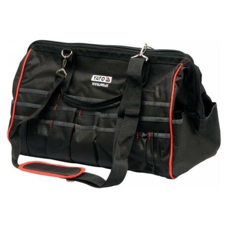 YATO Szerszámos táska - 50 zsebes/490x260x340 mm