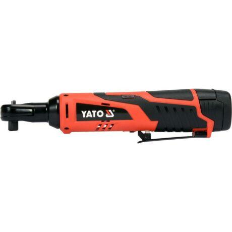 YATO Akkumulátoros sarok ütvecsavarozó - 12 V/45 Nm