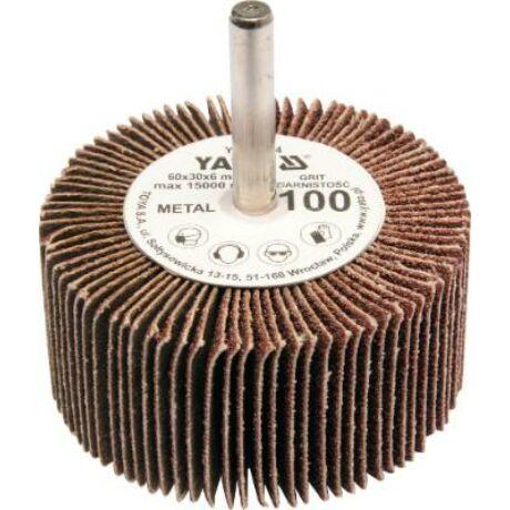 YATO Csapos lamellás, legyező csiszoló P40 - 6/60x30 mm