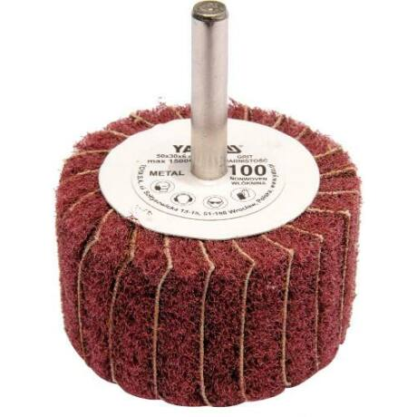YATO Csapos lamellás, legyező csiszoló P100 - 6/50x30 mm